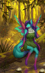 Fairy forest by Margony