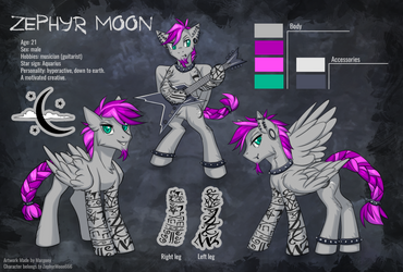 Zephyr Moon Reference by Margony