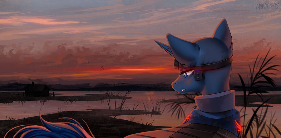 warrior_of_the_sunset_by_margony_dde9nr5