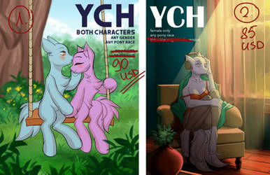 YCH's [OPEN both] -  fixed price