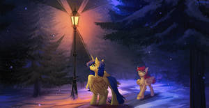 Warm light in the cold dark