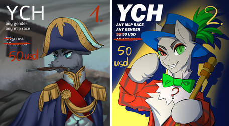 YCH fixed price [OPEN BOTH]