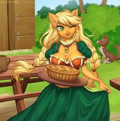 AJ's apple pie