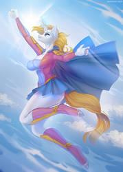 Super Pony! + speedpaint by Margony