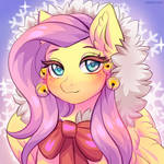 Fluttershy and winter