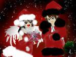 Merry XMas Rinoa and Squall by PrincessRiN0a