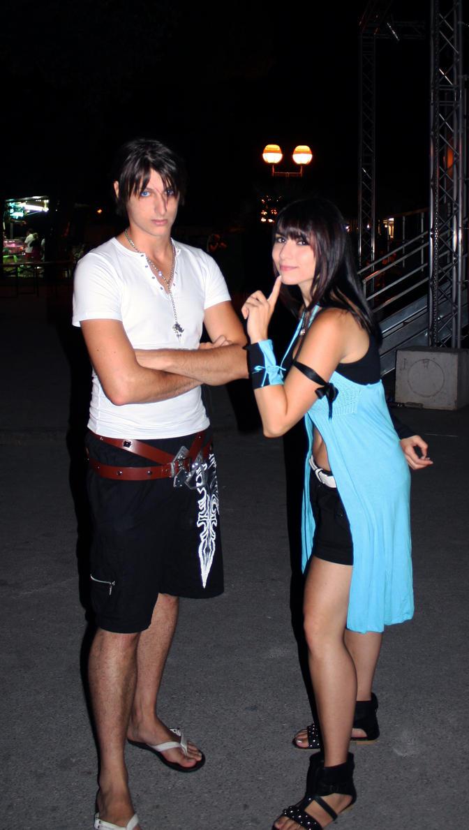 Squall And Rinoa Cosplay Squall Rinoa Cosplay Original