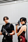 Leon and Ada cosplay RE4