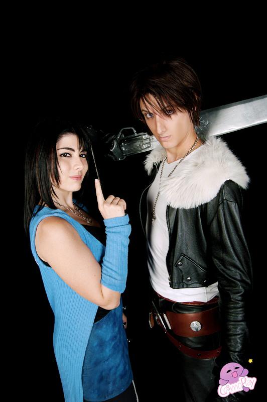 Squall And Rinoa Cosplay Squall And Rinoa Cosplay by