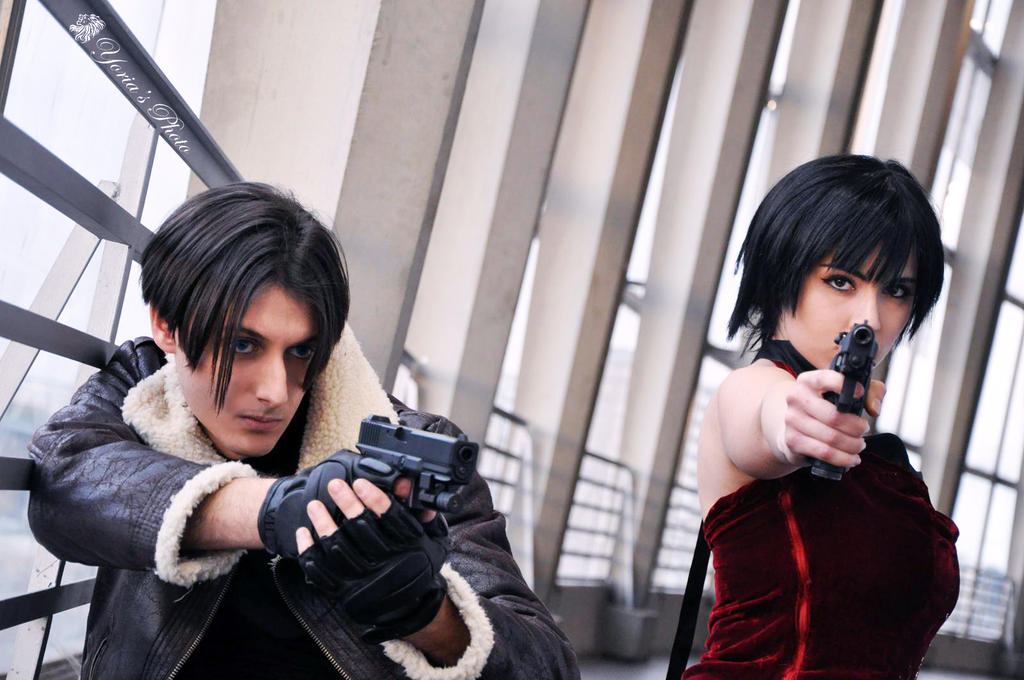 Leon S.Kennedy and Ada Wong cosplay (Old Photo) by PrincessRiN0a