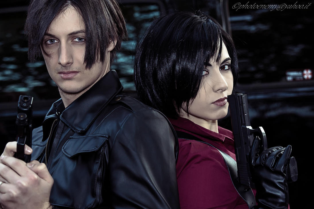 Leon Kennedy and Ada Wong Resident Evil 6 by PrincessRiN0a