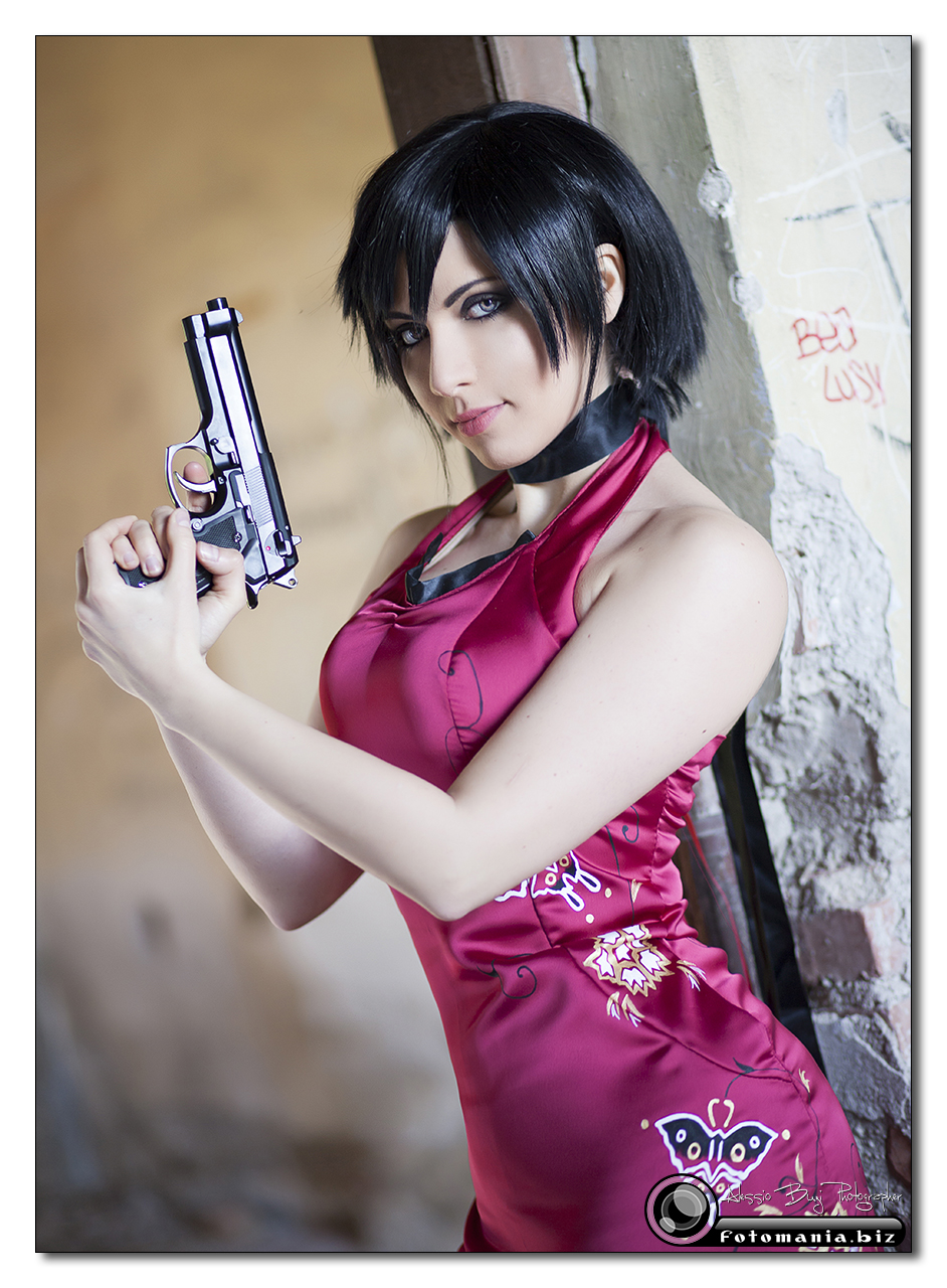 Ada Wong The Red Butterfly by PrincessRiN0a
