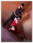 Leon and Ada Resident Evil 4 by PrincessRiN0a