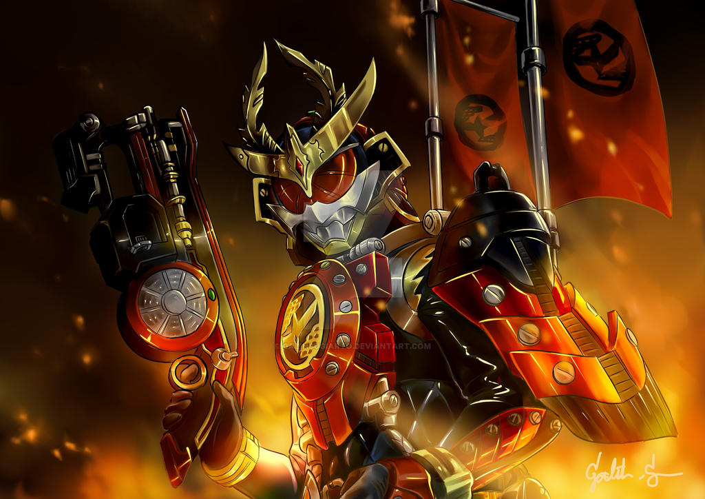Kamen Rider Gaim Kachidoki Arms by galihsugiarto on DeviantArt