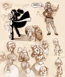 sketchbook1 by DawnElaineDarkwood