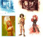 color sketches
