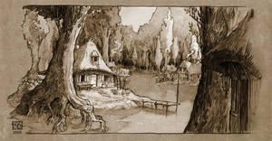 laketown by DawnElaineDarkwood