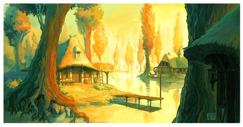laketown colors by DawnElaineDarkwood