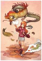 dragon pages by DawnElaineDarkwood