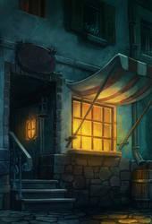 unfinished tavern by DawnElaineDarkwood
