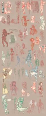 sketchdump 2012 and 2013
