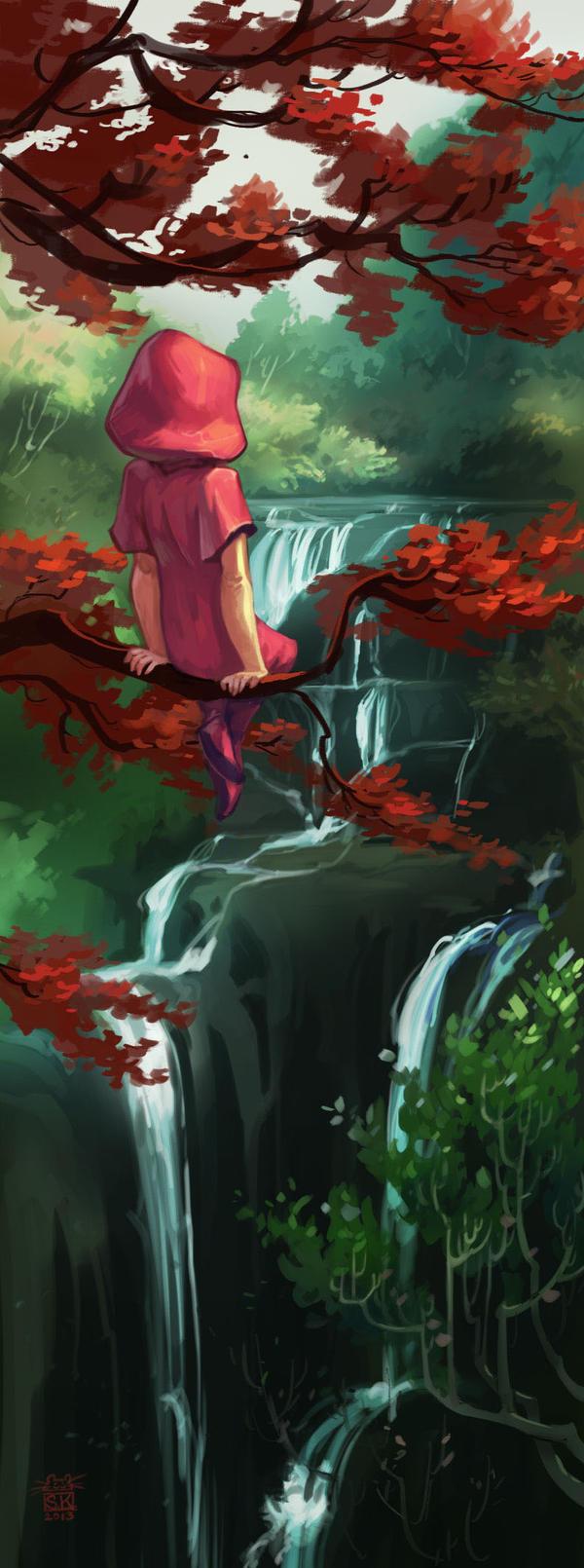 Red-leaves by DawnElaineDarkwood