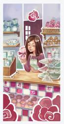 Sarah's bakery by DawnElaineDarkwood