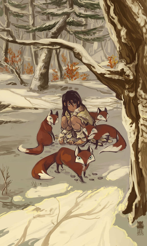 Foxchild by DawnElaineDarkwood