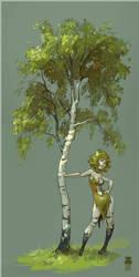 birch by DawnElaineDarkwood