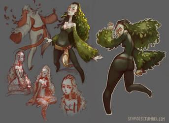 Willow by DawnElaineDarkwood