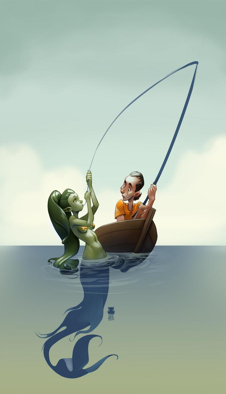Fishing by DawnElaineDarkwood