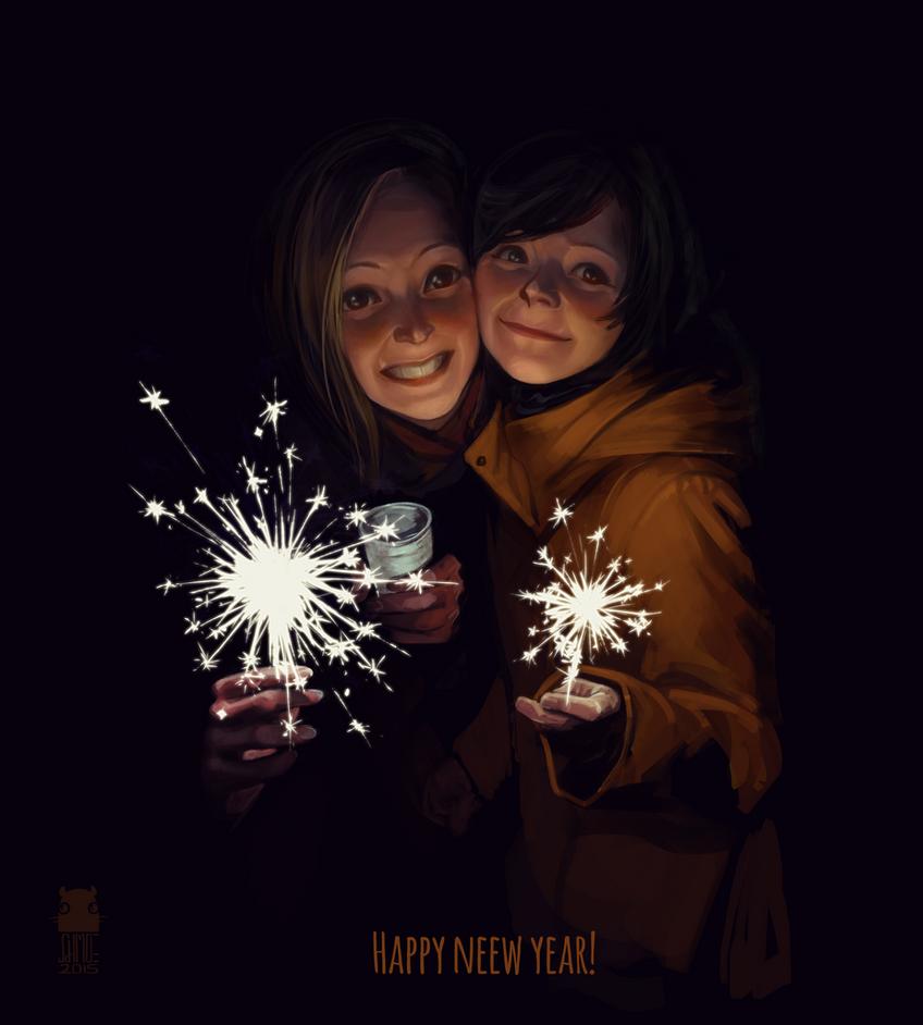 Belated Happy New Year! by DawnElaineDarkwood