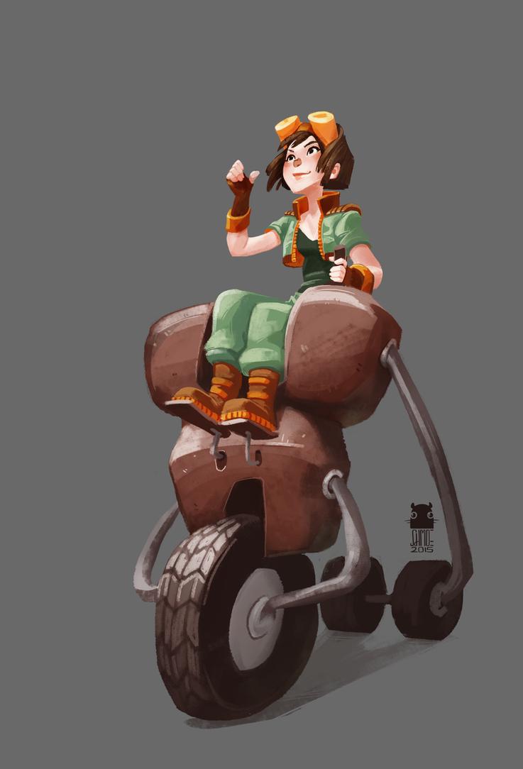 Weird ride by DawnElaineDarkwood
