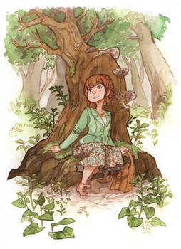 Feeling Woodland Goddess