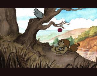 the apple by DawnElaineDarkwood