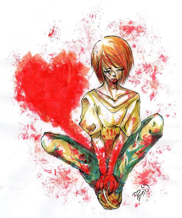 Blood and Love by Hitsuji-Yukai