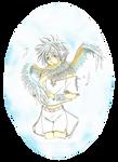 Angelic scraf by Mokolat