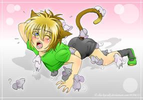 Mice attack! by Mokolat