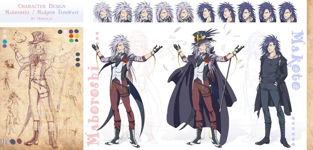 Character design : Makoto Itsuwari - Maboroshi by Mokolat