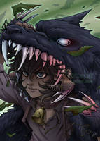 Under the wolf's skin by Mokolat