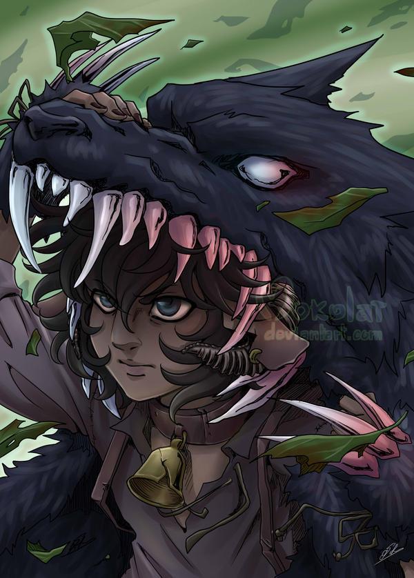 Under the wolf's skin