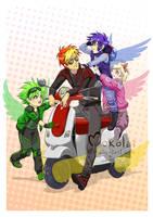 Angelmobile by Mokolat