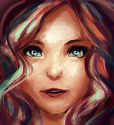 face practice by Digital-Yume