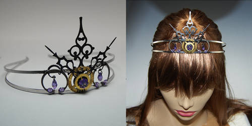 Purple Tiara v2- SOLD by YouniquelyChic