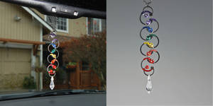 Rainbow Industrial Suncatcher- SOLD by YouniquelyChic