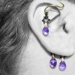 Purple Industrial Ear Wrap V5- SOLD