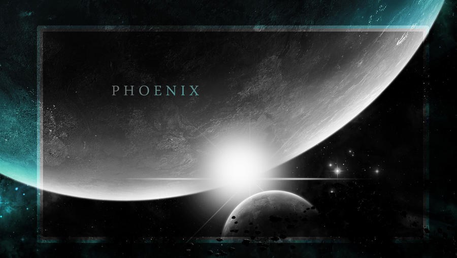 Black and White Phoenix
