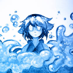 Steven Universe - Lapis Lazuli by denevert