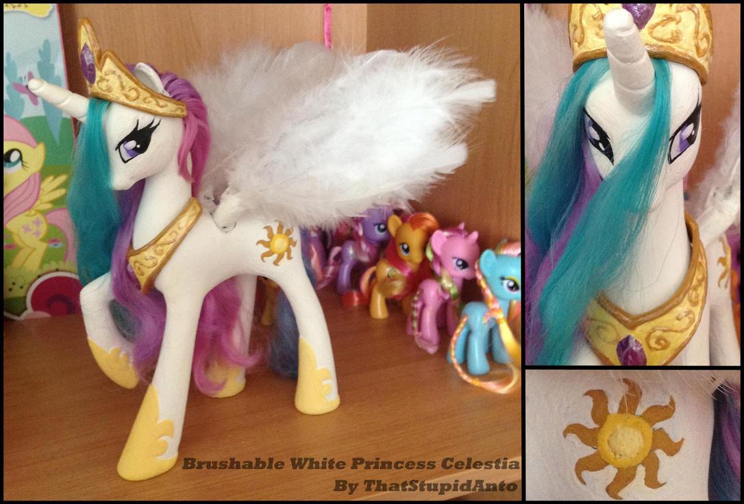 Princess Celestia custom by Antych