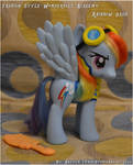 Wonderbolt Academy Rainbow Dash custom